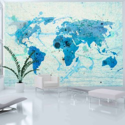 Fototapeta  Cruising and sailing   The World map