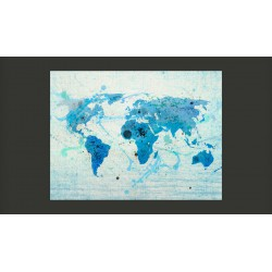 Fototapeta  Cruising and sailing   The World map