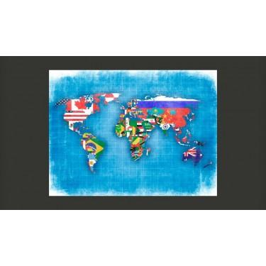 Fototapeta  Flags of countries