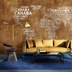 Fototapeta - Antyczna włoska mapa