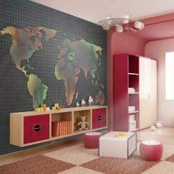 Fototapeta - mapa (dla dzieci)
