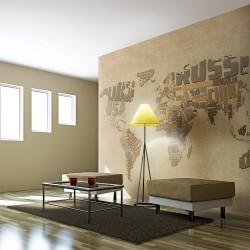 Fototapeta  Mapa odkrywców