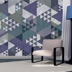 Fototapeta Niebieski patchwork