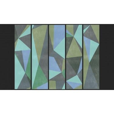Fototapeta  Szare trójkąty