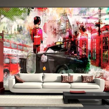 Fototapeta - Ulice Londynu