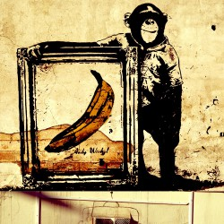 Fototapeta  Kolaż  Banksy