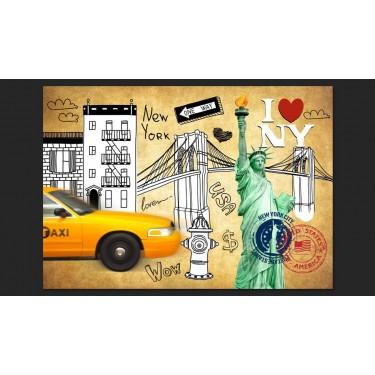Fototapeta  One way  New York