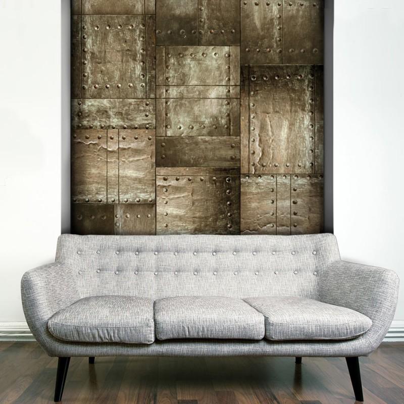 Fototapeta  Mosiężna mozaika