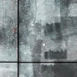 Fototapeta  Miasto otulone deszczem