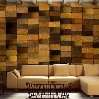 Fototapeta  Drewniana ściana