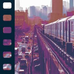 Fototapeta  NY  Miejski kolaż
