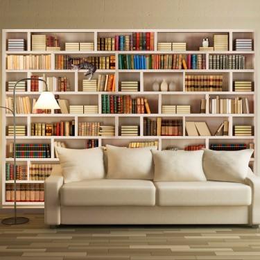 Fototapeta  Domowa biblioteczka