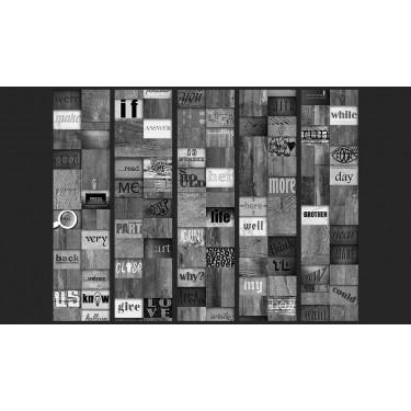 Fototapeta  Mozaika słów