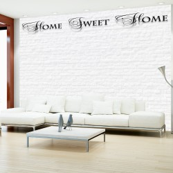 Fototapeta Home, sweet home white wall