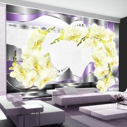 Fototapeta - Łuk z orchidei
