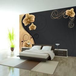 Fototapeta - Wdzięk złotej orchidei