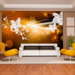 Fototapeta - Snieżny kwiat