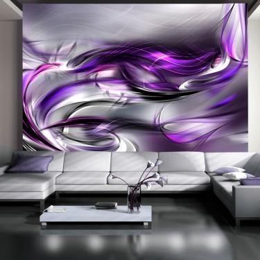 Fototapeta - Purpurowe zawirowania