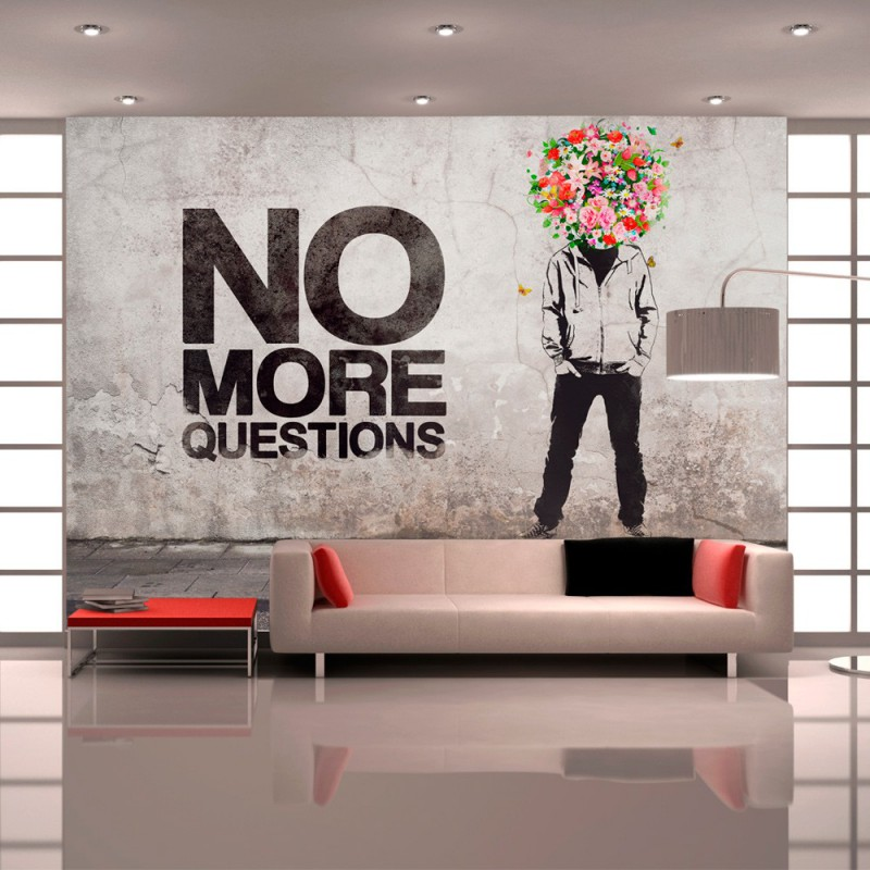 Fototapeta No more questions