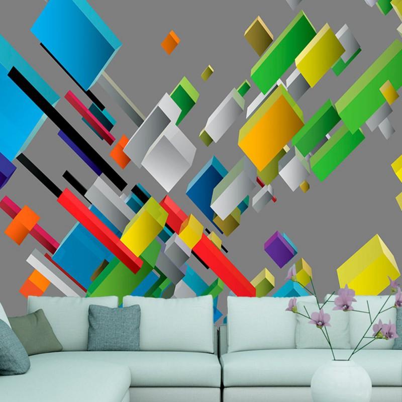 Fototapeta Kolorowa układanka
