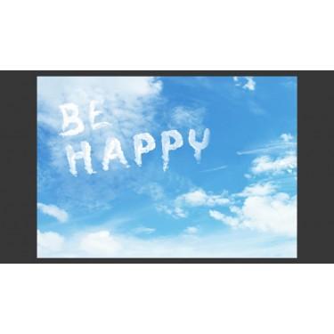 Fototapeta  Be happy