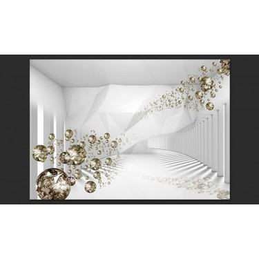 Fototapeta  Diamentowy korytarz