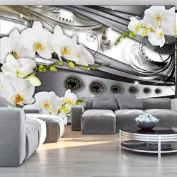 Fototapeta - Orchidee & biżuteria