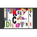 Fototapeta Keep Calm and Design