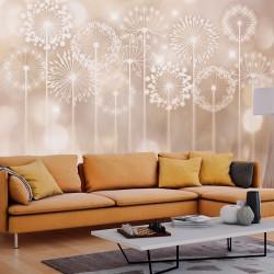 Fototapeta - Promienne kwiaty