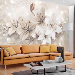 Fototapeta - Diamentowe lilie