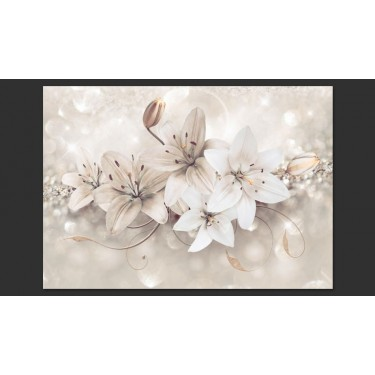 Fototapeta  Diamentowe lilie