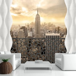 Fototapeta - Światło Nowego Jorku