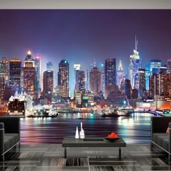Fototapeta - Nocny Nowy Jork