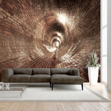 Fototapeta  Podziemny korytarz
