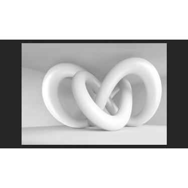 Fototapeta  Biały splot
