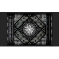 Fototapeta  Czarna mozaika