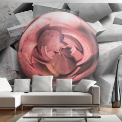 Fototapeta kamienna róża