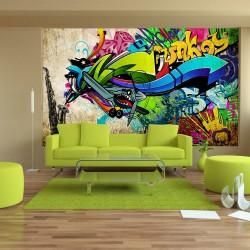 Fototapeta  Funky  graffiti
