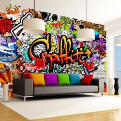 Fototapeta - Kolorowe graffiti