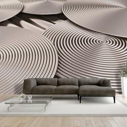 Fototapeta - Miedziane spirale