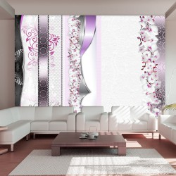 Fototapeta Parada orchidei w fiolecie
