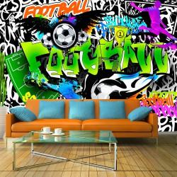 Fototapeta Piłkarskie graffiti