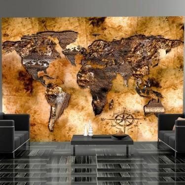 Fototapeta  Opalizujące kontynenty