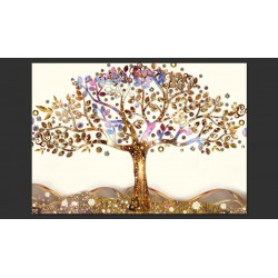 Fototapeta  Złote drzewo