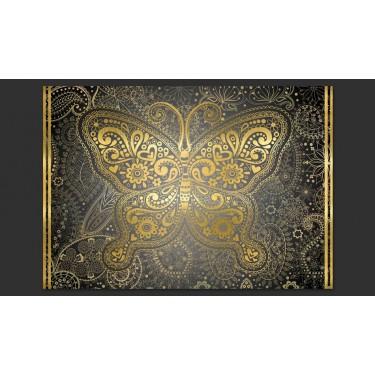 Fototapeta  Złoty motyl