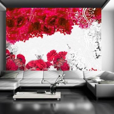 Fototapeta  Kolory wiosny czerwony