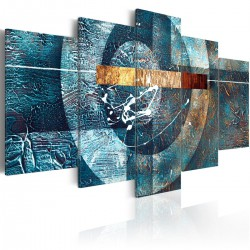 Obraz  Błękitna galaktyka