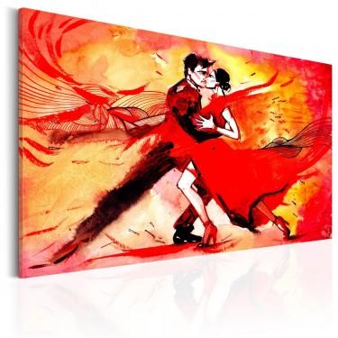 Obraz  Zmysłowy taniec