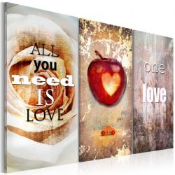 Obraz - Rozważania o miłości