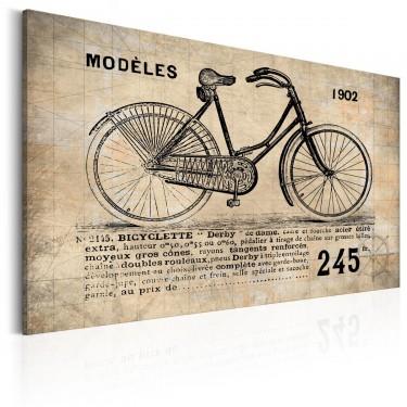 Obraz  N° 1245  Bicyclette